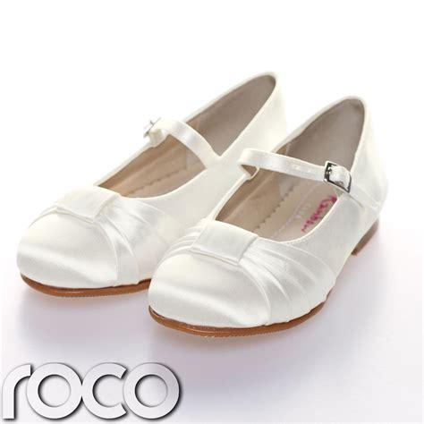 girls ivory wedding shoes girls shoes communion shoes