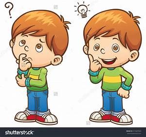 Curious Child Clipart - ClipartXtras