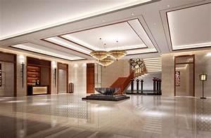 Aviation Hotel Lobby Interior Design House - Tierra Este