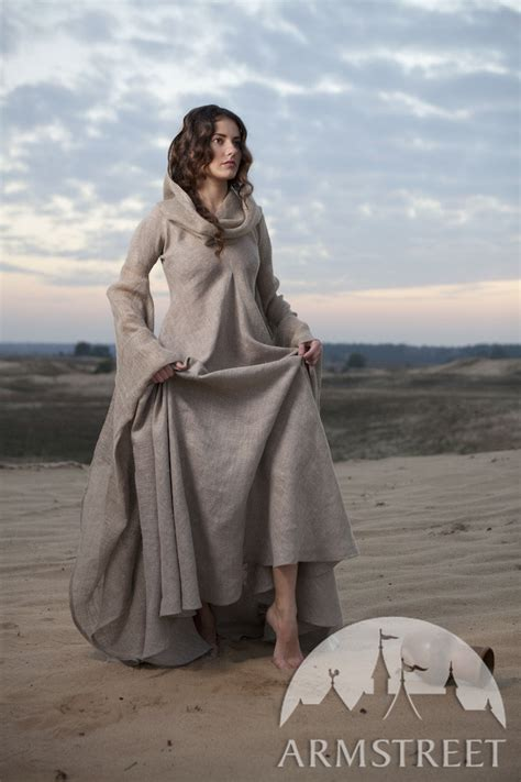"Fantasy linen robe ""Wanderer"". Available in: sackcloth"