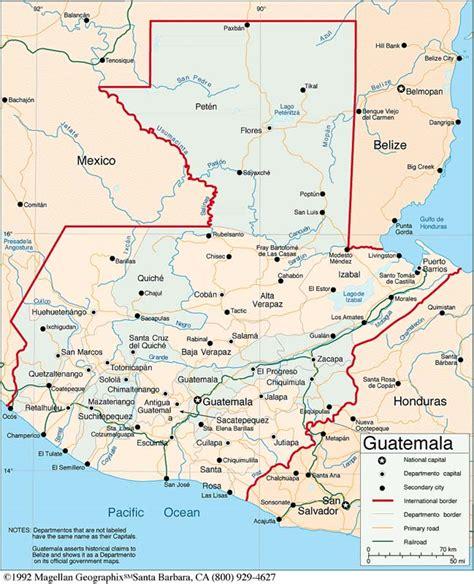 maps  guatemala