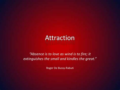 attraction and quot the one quot