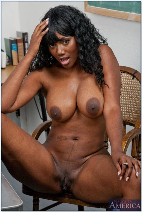 Nyomi Banxxx Is A Hot Ebony Sex Ed Teacher Naughty America Pictures