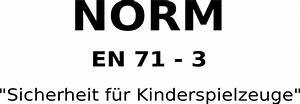 Din En 71 3 : din en 71 3 was bedeutet die norm sicherheit f r kinderspielzeuge ~ Watch28wear.com Haus und Dekorationen