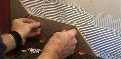 installing  ceramic tile backsplash  drywall today