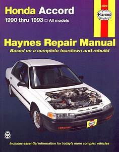 Honda Accord Repair Manual 1990-1993