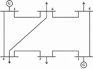 Line Diagram Of Ieee 6
