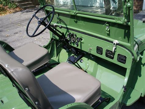 willys jeepster interior 1946 willys jeep cj2a 61380