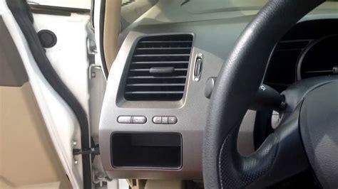 08 Honda Civic Dash Removal
