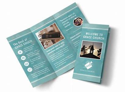 Brochure Church Christian Template Religious Templates Pamphlet