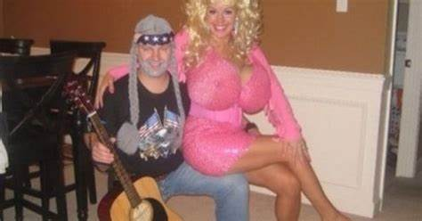 Sister Dolly In Couple Couple Halloween Costume
