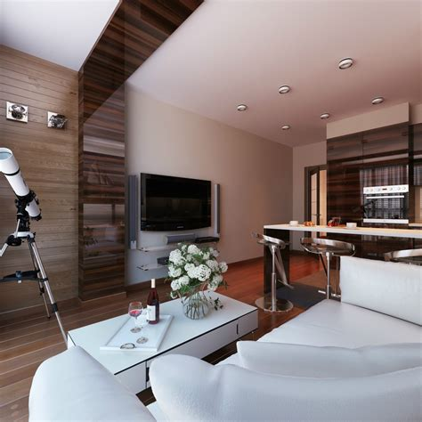 Themed Kitchen Ideas - 3 distinctly themed apartments under 800 square feet with floor plans