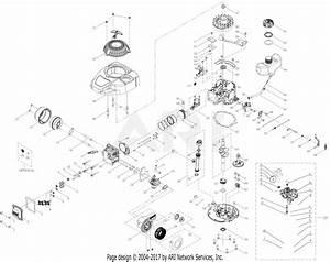 Troy Bilt 1t65pt 140cc Engine Parts Diagram For 1t65pt