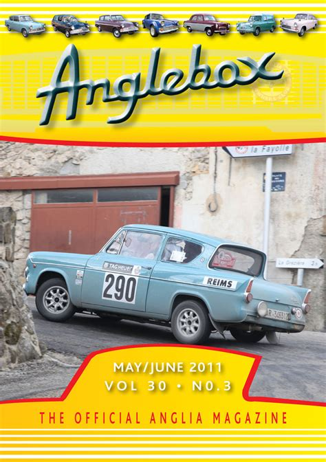 ford anglia  owners club