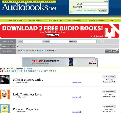 10 Audiobook Websites