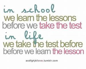 Inspirational Quote about life lessons #inspirational ...