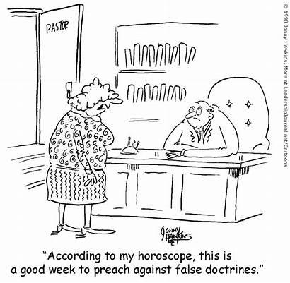 False Doctrine Astrology Cartoon Doctrines Leadership Journal
