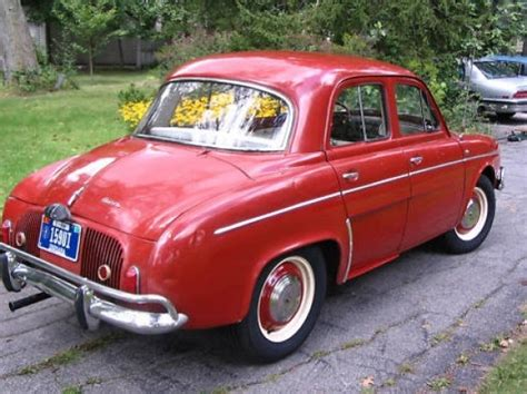 Renault Dauphine For Sale by Stored 34 Years 1964 Renault Dauphine Bring A Trailer