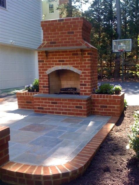 661 Best Outdoor Fireplace Pictures Images On Pinterest