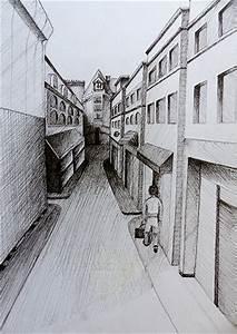 exemple de dessin de piece en perspective des idees With creation de maison 3d 15 comment dessiner une ville en 3d