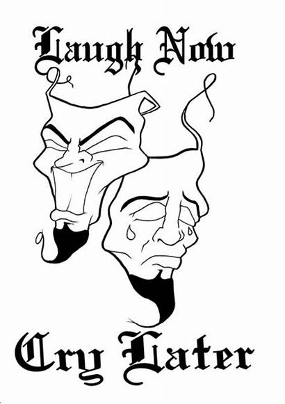 Cry Later Smile Laugh Coloring Pages Drawings