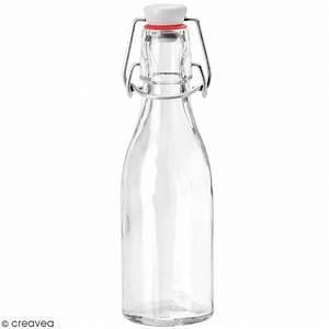 Bouteille De Verre : bouteille en verre avec syst me fermeture m tal 200 ml ustensile cuisine creavea ~ Teatrodelosmanantiales.com Idées de Décoration