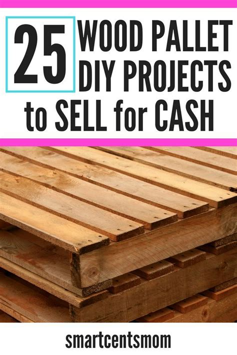 pallet wood projects  sell creative ways