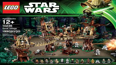 10236 Ewok Village Lego Star Wars (complete Instruction