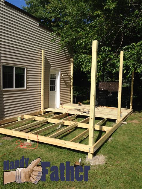 Diy Deck Building Physical Fitness Day 9  Handy Father