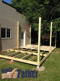 ground level deck plans Decking: How To Build A Freestanding Deck For Your Outdoor ...