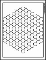 Coloring Pages Pattern Hex Bee Hive Printable Patterns Geometric Pdf Logic Play Boards Geogebra Electronics Detailed Printables Colorwithfuzzy sketch template