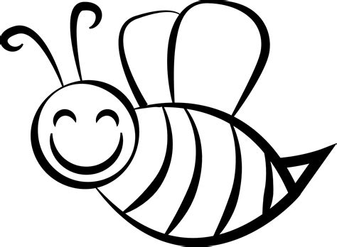 Coloring Bee by Bee Coloring Page Wecoloringpage
