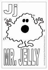 Mr Coloring Pages Grumpy Jelly Letter Happy Bear Template Face Disney sketch template