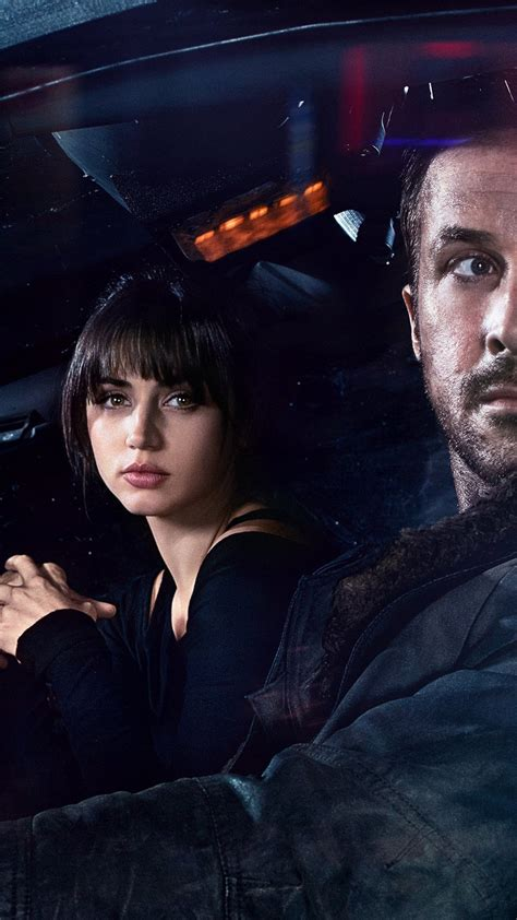 wallpaper blade runner  ana de armas ryan gosling