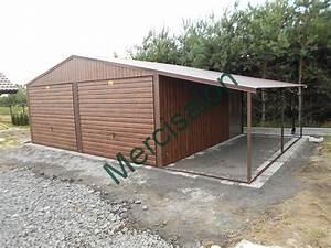 Plechová střecha na garáž