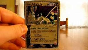rarest pokemon card ever made in the world ex