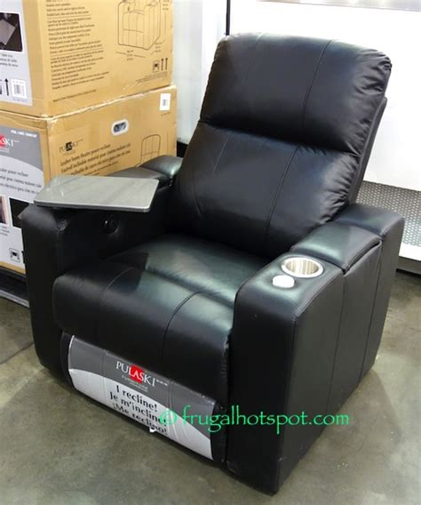 costco sale pulaski furniture leather home theater power