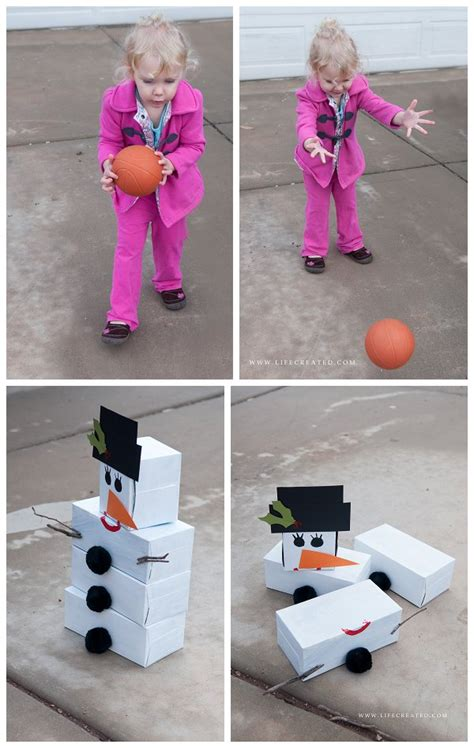 Craftaholics Anonymous® DIY Snowman Bowling Game