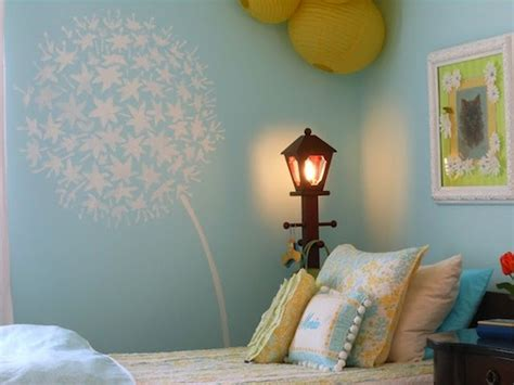 artistically stenciled kids room walls kidspace interiors