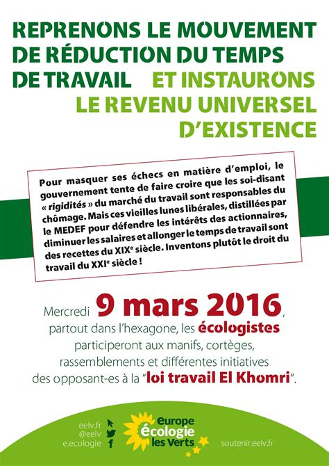 Modification Du Contrat De Travail El Khomri by Bassenormandie Basse Normandie