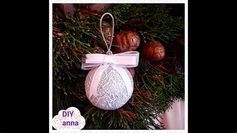 christmas balls decoupage shabby chic diy ideas
