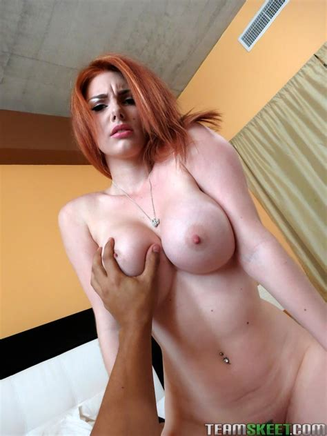 Redhead Babe Lilith Lust Gets Fucked Hard In Her First