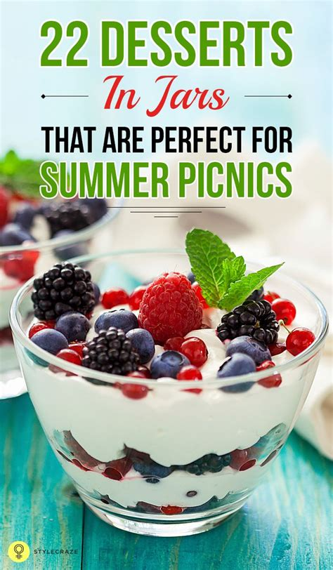 Those sound so perfect for the summer. 22 Desserts In Jars That Are Perfect For Summer Picnics ...