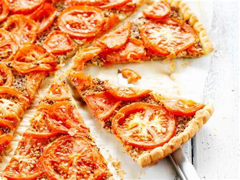 jeux de cuisine fr tarte à la tomate et à la moutarde facile et pas cher