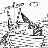 Coloring Boat Boats Printable Cartoon Drawing Simple Cool2bkids Tugboat Bo Bass Getdrawings Getcolorings Motor sketch template