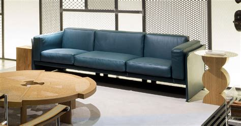 Divano Kivik Pelle : Armchair And Sofa 405 Duc By Cassina