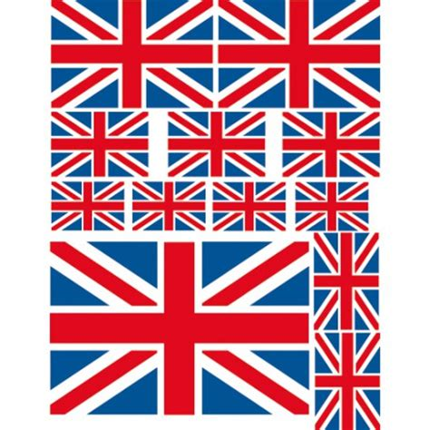 chambre bebe style anglais stickers drapeaus anglais autocollants déco londres de