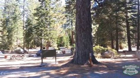 This is a large campground with individual and group camping. CampgroundViews.com - Sugar Pine Point State Park Tahoma ...