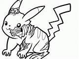 Coloring Zombie Cartoon Halloween Popular sketch template