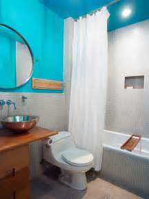 bathroom paint ideas blue our favorite bright bold bathrooms bathroom ideas designs hgtv